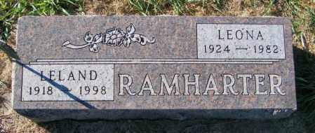 RAMHARTER, LEONA - Lincoln County, South Dakota | LEONA RAMHARTER - South Dakota Gravestone Photos