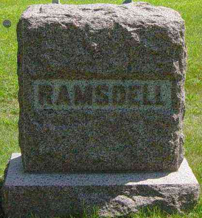 RAMSDELL, FAMILY MEMORIAL - Lincoln County, South Dakota | FAMILY MEMORIAL RAMSDELL - South Dakota Gravestone Photos