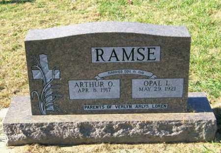 RAMSE, OPAL L - Lincoln County, South Dakota | OPAL L RAMSE - South Dakota Gravestone Photos