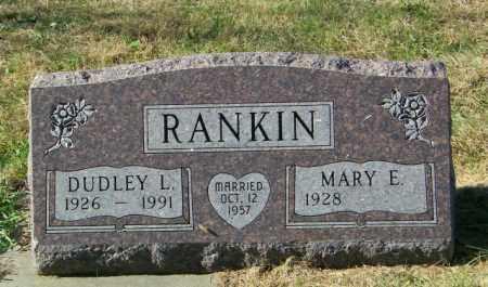 RANKIN, DUDLEY L - Lincoln County, South Dakota   DUDLEY L RANKIN - South Dakota Gravestone Photos