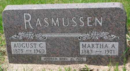 RASMUSSEN, MARTHA A. - Lincoln County, South Dakota | MARTHA A. RASMUSSEN - South Dakota Gravestone Photos