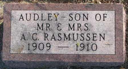 RASMUSSEN, AUDLEY - Lincoln County, South Dakota | AUDLEY RASMUSSEN - South Dakota Gravestone Photos
