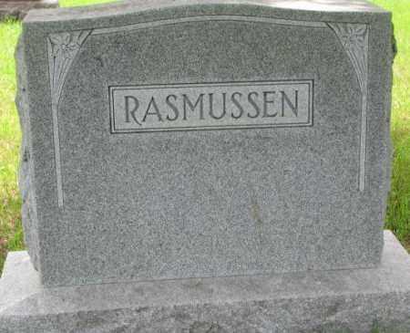RASMUSSEN, FAMILY PLOT MARKER - Lincoln County, South Dakota | FAMILY PLOT MARKER RASMUSSEN - South Dakota Gravestone Photos