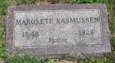 RASMUSSEN, MARGRETE - Lincoln County, South Dakota | MARGRETE RASMUSSEN - South Dakota Gravestone Photos