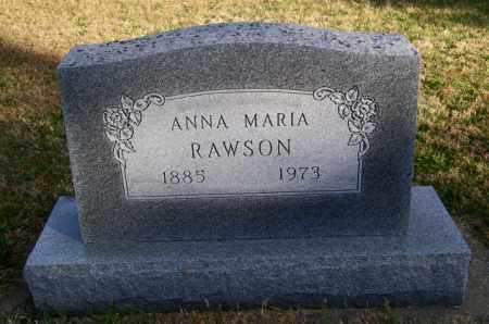 RAWSON, ANNA MARIA - Lincoln County, South Dakota | ANNA MARIA RAWSON - South Dakota Gravestone Photos