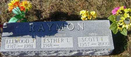 RAYMON, ESTHER L - Lincoln County, South Dakota | ESTHER L RAYMON - South Dakota Gravestone Photos