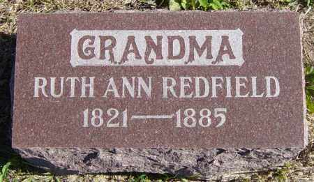 REDFIELD, RUTH ANN - Lincoln County, South Dakota | RUTH ANN REDFIELD - South Dakota Gravestone Photos