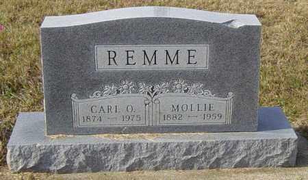 REMME, MOLLIE - Lincoln County, South Dakota | MOLLIE REMME - South Dakota Gravestone Photos