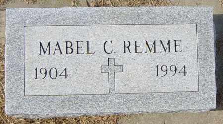 REMME, MABEL C - Lincoln County, South Dakota | MABEL C REMME - South Dakota Gravestone Photos