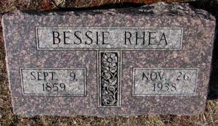 RHEA, BESSIE - Lincoln County, South Dakota   BESSIE RHEA - South Dakota Gravestone Photos