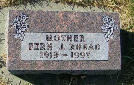 RHEAD, FERN J. - Lincoln County, South Dakota | FERN J. RHEAD - South Dakota Gravestone Photos