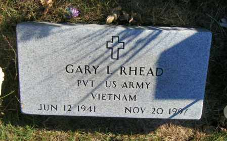 RHEAD, GARY L. - Lincoln County, South Dakota | GARY L. RHEAD - South Dakota Gravestone Photos