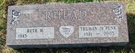 RHEAD, RUTH M. - Lincoln County, South Dakota   RUTH M. RHEAD - South Dakota Gravestone Photos