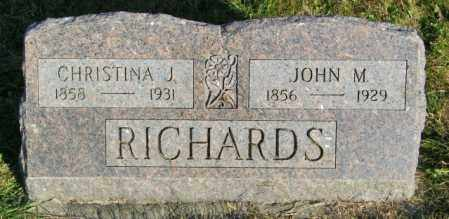 RICHARDS, JOHN M. - Lincoln County, South Dakota | JOHN M. RICHARDS - South Dakota Gravestone Photos