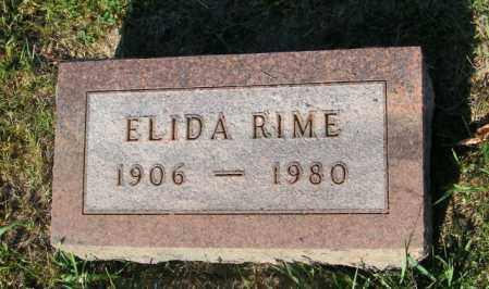 RIME, ELIDA - Lincoln County, South Dakota | ELIDA RIME - South Dakota Gravestone Photos