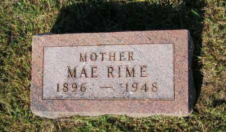 RIME, MAE - Lincoln County, South Dakota | MAE RIME - South Dakota Gravestone Photos