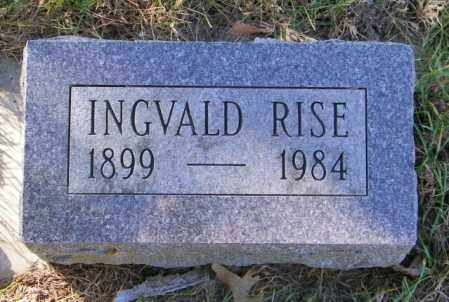 RISE, INGVALD - Lincoln County, South Dakota | INGVALD RISE - South Dakota Gravestone Photos