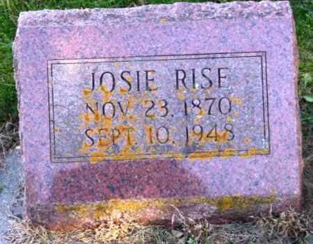 RISE, JOSIE - Lincoln County, South Dakota   JOSIE RISE - South Dakota Gravestone Photos
