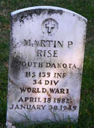 RISE, MARTIN P. - Lincoln County, South Dakota | MARTIN P. RISE - South Dakota Gravestone Photos