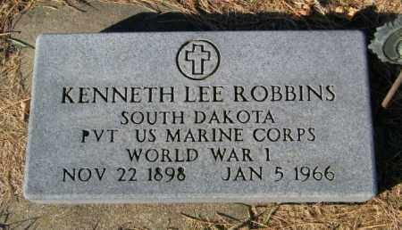 ROBBINS, KENNETH LEE - Lincoln County, South Dakota | KENNETH LEE ROBBINS - South Dakota Gravestone Photos