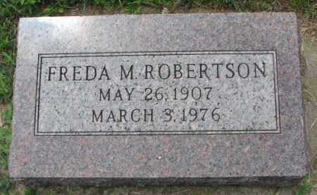 ROBERTSON, FREDA M. - Lincoln County, South Dakota | FREDA M. ROBERTSON - South Dakota Gravestone Photos