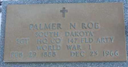 ROE, PALMER N. (WW I) - Lincoln County, South Dakota | PALMER N. (WW I) ROE - South Dakota Gravestone Photos