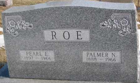 ROE, PALMER N. - Lincoln County, South Dakota   PALMER N. ROE - South Dakota Gravestone Photos