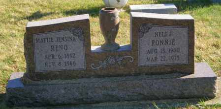 RONNIE, NELS J. - Lincoln County, South Dakota | NELS J. RONNIE - South Dakota Gravestone Photos