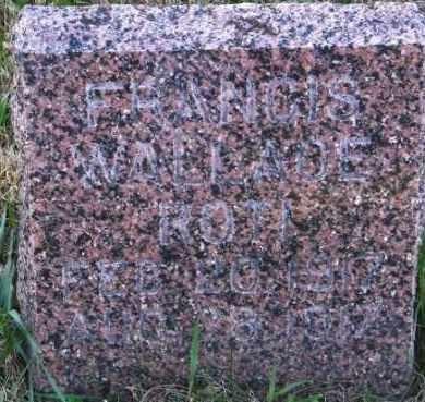 ROTI, FRANCIS WALLACE - Lincoln County, South Dakota | FRANCIS WALLACE ROTI - South Dakota Gravestone Photos