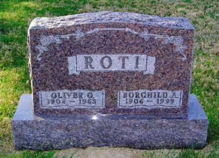 ROTI, OLIVER O. - Lincoln County, South Dakota | OLIVER O. ROTI - South Dakota Gravestone Photos