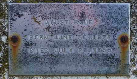 RUUD, A. GUST - Lincoln County, South Dakota | A. GUST RUUD - South Dakota Gravestone Photos