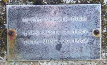 RUUD, FLOYD MELVIN - Lincoln County, South Dakota | FLOYD MELVIN RUUD - South Dakota Gravestone Photos