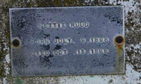 RUUD, NETTIE - Lincoln County, South Dakota   NETTIE RUUD - South Dakota Gravestone Photos