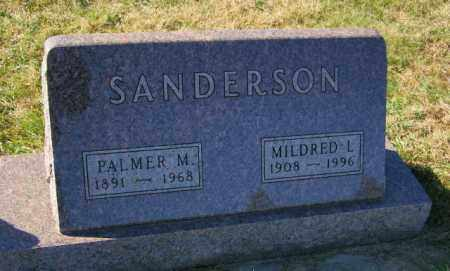 SANDERSON, MILDRED L. - Lincoln County, South Dakota   MILDRED L. SANDERSON - South Dakota Gravestone Photos