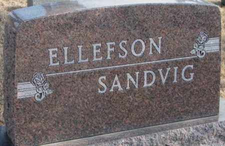 SANDVIG-ELLEFSON, PLOT - Lincoln County, South Dakota | PLOT SANDVIG-ELLEFSON - South Dakota Gravestone Photos