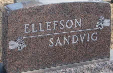 SANDVIG-ELLEFSON, PLOT - Lincoln County, South Dakota   PLOT SANDVIG-ELLEFSON - South Dakota Gravestone Photos