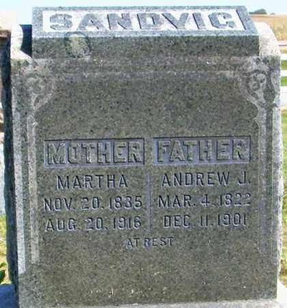SANDVIG, ANDREW J. - Lincoln County, South Dakota | ANDREW J. SANDVIG - South Dakota Gravestone Photos