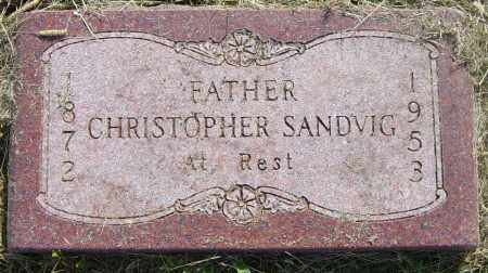 SANDVIG, CHRISTOPHER - Lincoln County, South Dakota | CHRISTOPHER SANDVIG - South Dakota Gravestone Photos