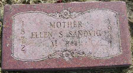 SANDVIG, ELLEN S - Lincoln County, South Dakota | ELLEN S SANDVIG - South Dakota Gravestone Photos