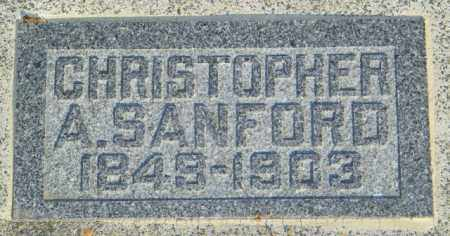 SANFORD, CHRISTOPHER A. - Lincoln County, South Dakota | CHRISTOPHER A. SANFORD - South Dakota Gravestone Photos