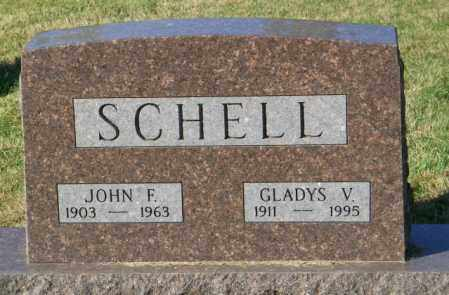 SCHELL, JOHN F. - Lincoln County, South Dakota | JOHN F. SCHELL - South Dakota Gravestone Photos