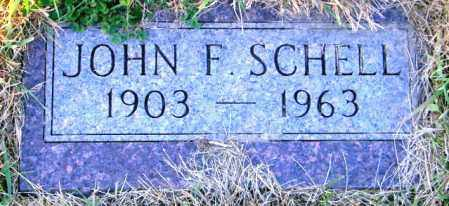 SCHELL, JOHN F. - Lincoln County, South Dakota | JOHN F. SCHELL - South Dakota Gravestone Photos