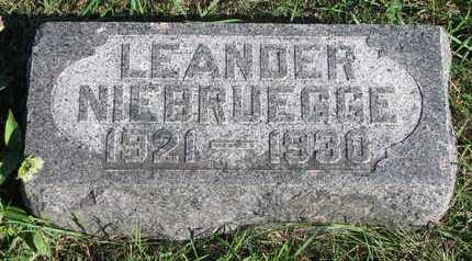 NIEBRUEGGE, LEANDER - Lincoln County, South Dakota | LEANDER NIEBRUEGGE - South Dakota Gravestone Photos