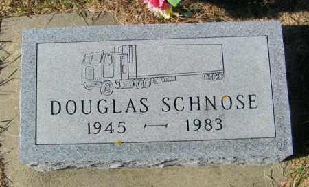 SCHNOSE, DOUGLAS - Lincoln County, South Dakota | DOUGLAS SCHNOSE - South Dakota Gravestone Photos