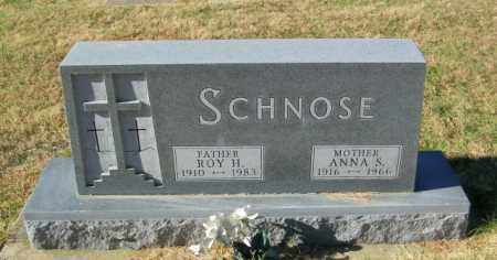 SCHNOSE, ANNA S - Lincoln County, South Dakota | ANNA S SCHNOSE - South Dakota Gravestone Photos