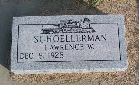 SCHOELLERMAN, LAWRENCE W. - Lincoln County, South Dakota   LAWRENCE W. SCHOELLERMAN - South Dakota Gravestone Photos