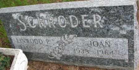 SCHRODER, JOAN - Lincoln County, South Dakota | JOAN SCHRODER - South Dakota Gravestone Photos