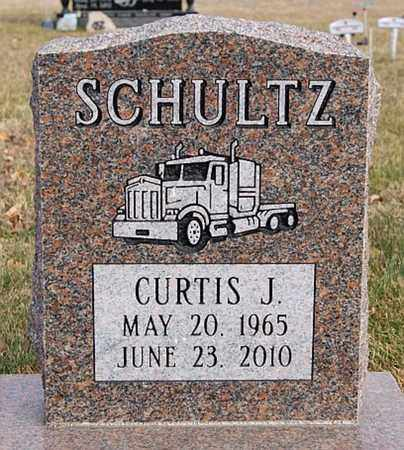 SCHULTZ, CURTIS J - Lincoln County, South Dakota | CURTIS J SCHULTZ - South Dakota Gravestone Photos