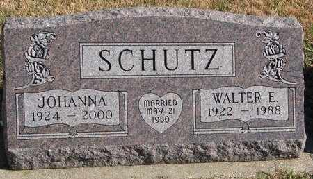 SCHULTZ, JOHANNA - Lincoln County, South Dakota | JOHANNA SCHULTZ - South Dakota Gravestone Photos