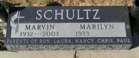 SCHULTZ, MARVIN - Lincoln County, South Dakota | MARVIN SCHULTZ - South Dakota Gravestone Photos